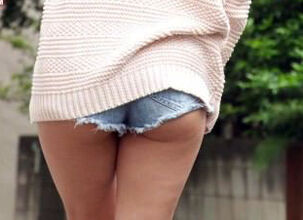 Upskirt teen panties